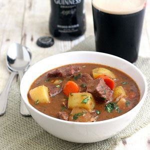 Beef in Guinness Irish Stew
