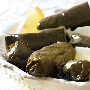 Veal and Rice Dolmades