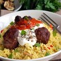 Moroccan Lamb Meatballs & Couscous