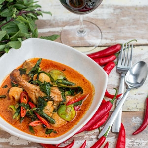 Red Curry of Duck with Lychee