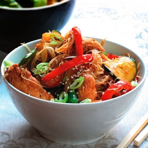 Chicken and Vegetable Stir Fry with Hoisin Sauce