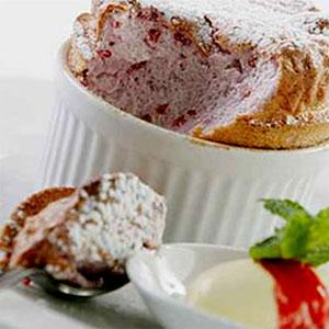 Simple Raspberry Souffle