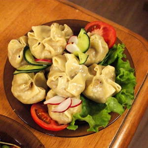 Mongolian Dumplings (Bansh)