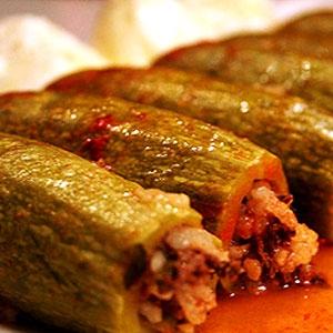 Kousa Mahshi - Stuffed Zucchini