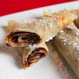 Nutella Cinnamon Crepes Recipe Agfg
