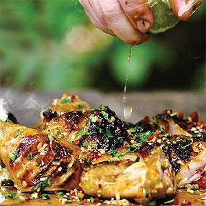Char-grilled Chicken