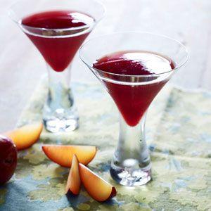 Roasted Plum Martini