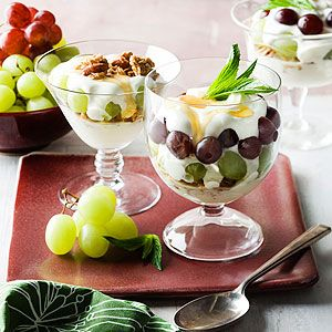 Grape Parfait