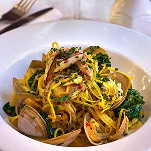 Angel Hair Pasta with Clams