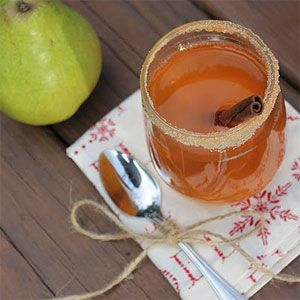 Hot Caramel Pear Cider