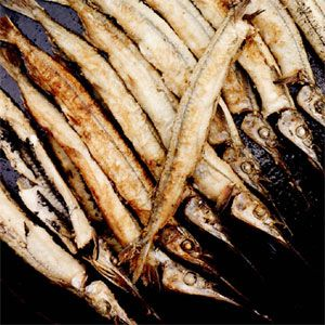 Fried Garfish