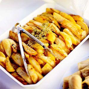 Potatoes with Lemon and Oregano