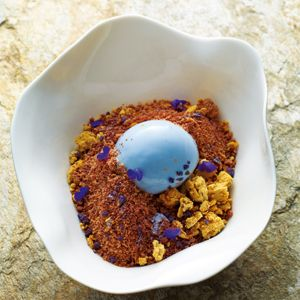 Violet Crumble - Chef Recipe by Ben Shewry