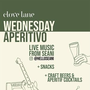 Wednesday APERITIVO with Live Music