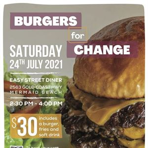 Burgers for Change Charity Event