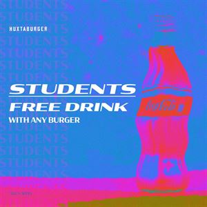 Free Drink for Students