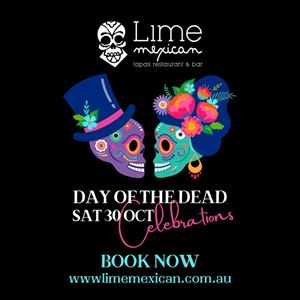 Day of the Dead Party at Lime Mexican